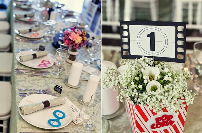 decoracao casamento tema cinema:compartilhe: twitter pinterest google+ email WhatsApp
