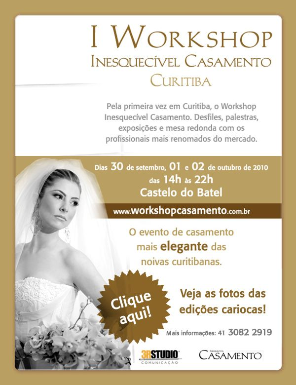 Workshop Inesquecível Casamento