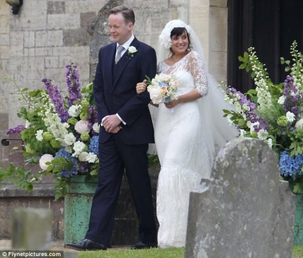 O casamento de Lily Allen