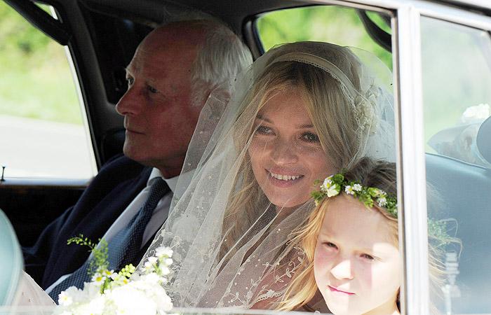 O casamento de Kate Moss