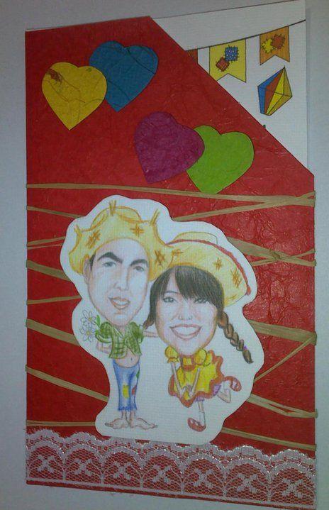 decoração de noivado - Festa Junina