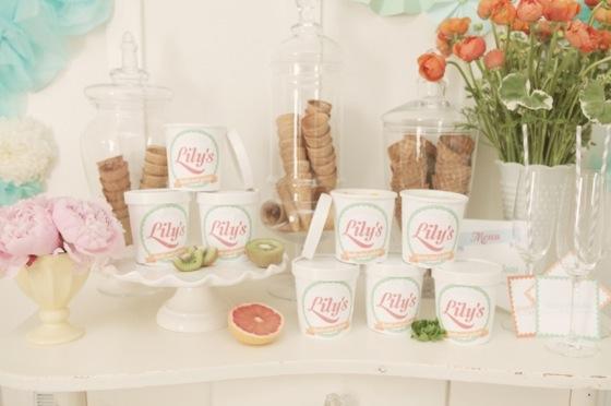 Chá de sorvete - Chá de cozinha