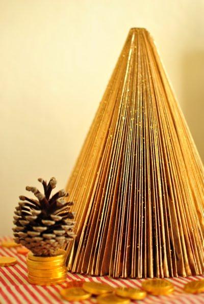 Árvore natalina de revista