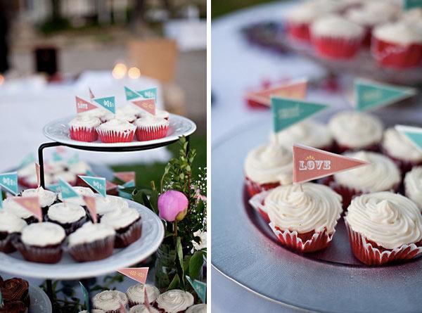 20 inspirações de cupcakes para casamento