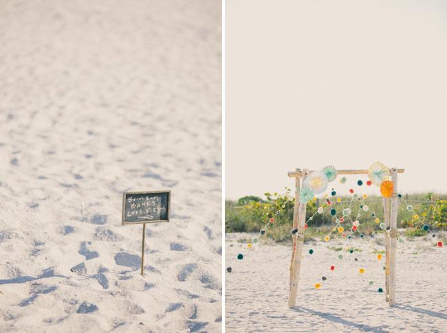 Casamento ao ar livre: Inspirações para decorar o altar da cerimônia - decoração de papel
