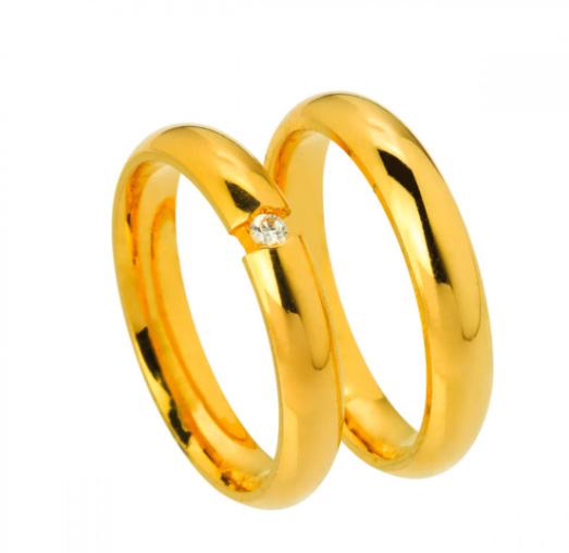 alianças de ouro - foto3