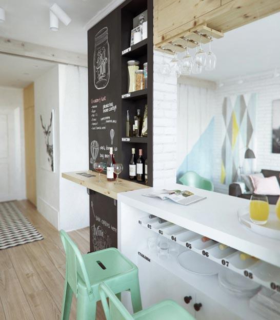 decoração de apartamento pequeno