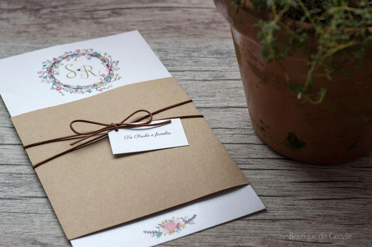 mini wedding - convites para casamento