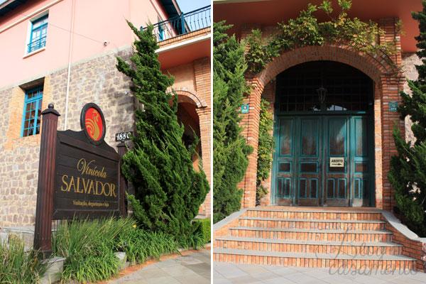 vinícolas na Serra Gaúcha  - Casa Salvador