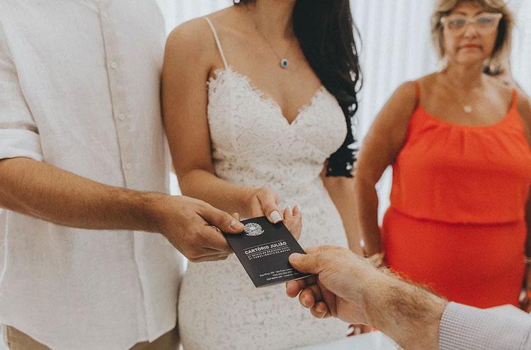 casamento civil em casa - Cartório Julião
