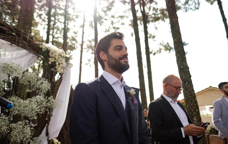 Casamento ao ar livre: Fernanda e Heitor