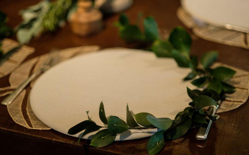 casamento - decoração botânica
