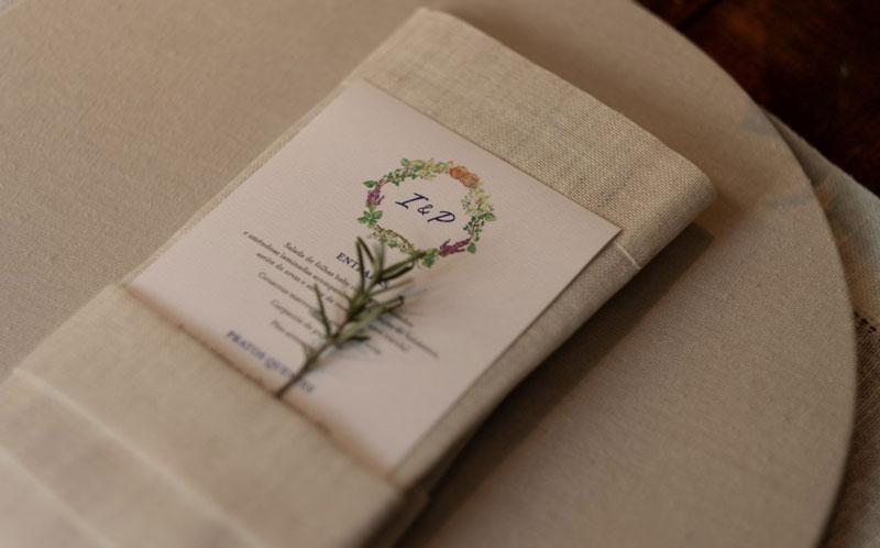 casamento - ervas aromáticas