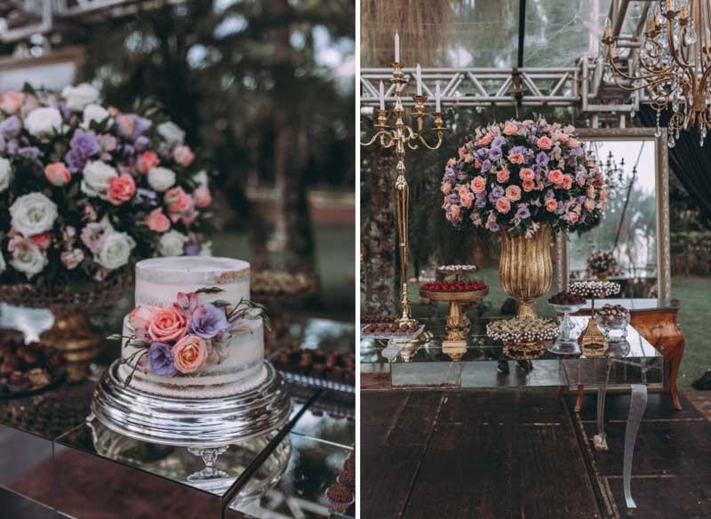 casamento clássico com recepção ao ar livre