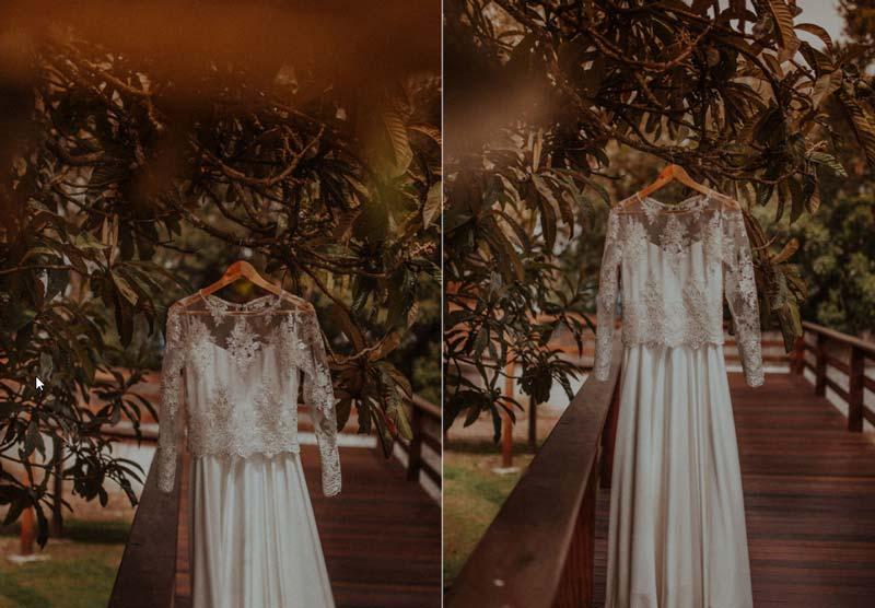 Casamento DIY - Lu e Rodolfo - vestido de noiva