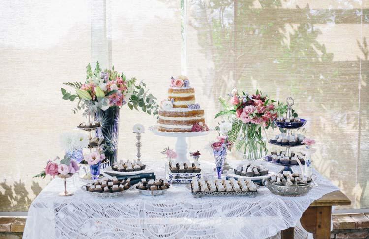 Inspiração: mesa de doces para casamento civil
