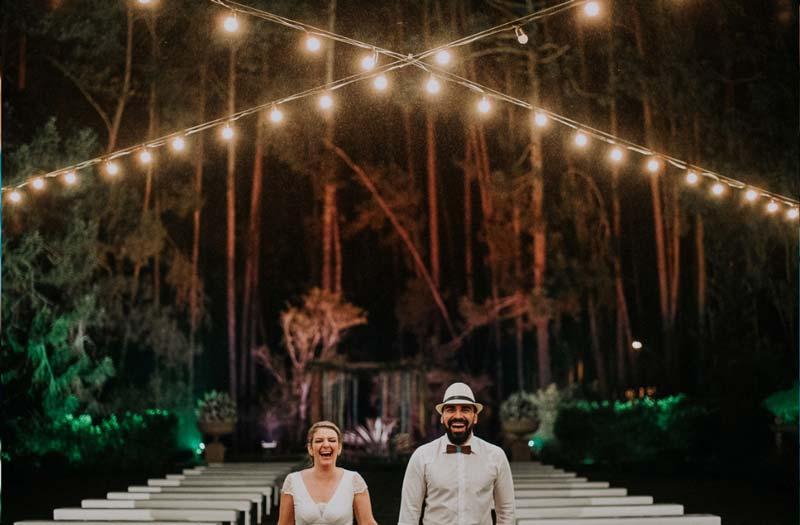 Casamento em dia de chuva: Michele e Rafael