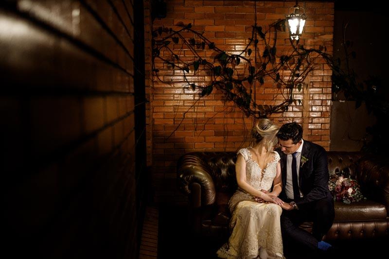 Mini wedding rústico: Tati & Silvio
