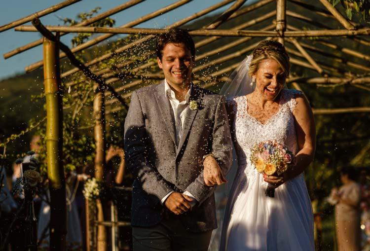 casamento em Floripa - chuva de arroz