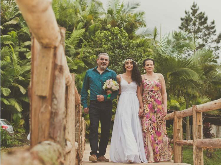 Casamento ao ar livre - Helo & Nathan