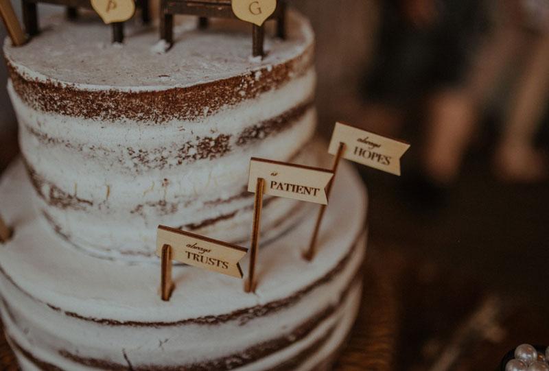 casamento tropical em Curitiba - bolo de casamento