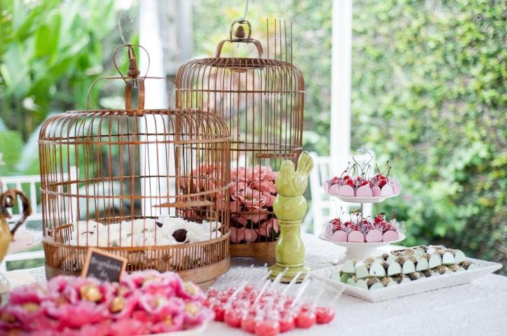 decoração de casamento com gaiolas