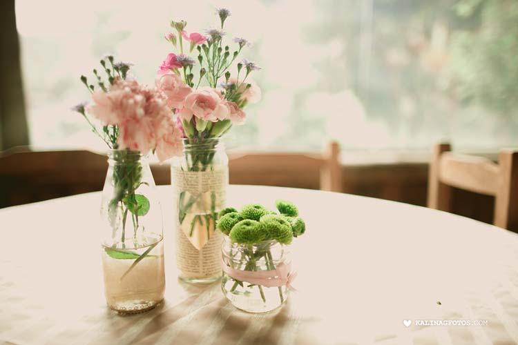 casamento romântico - decoração