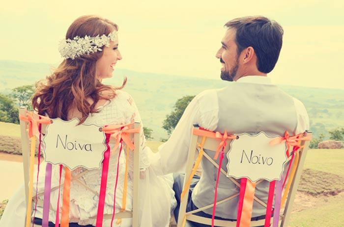 Casamento retrô