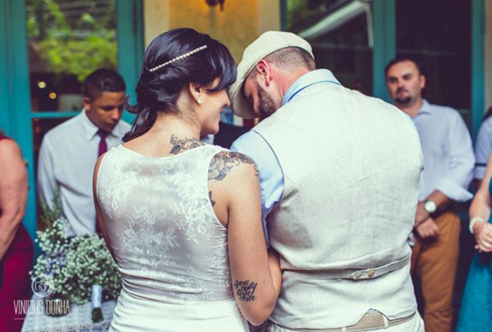 Casamento: Caroline e Fabiano
