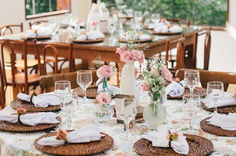 Casamento romântico - Inspirações cheia de detalhes que são bem a cara do romance, para as noivas que querem enfatizar o AMOR no casamento! Confira!!