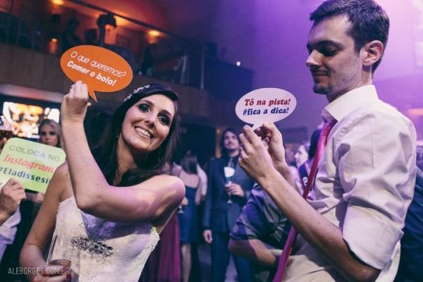 plaquinhas divertidas de casamento