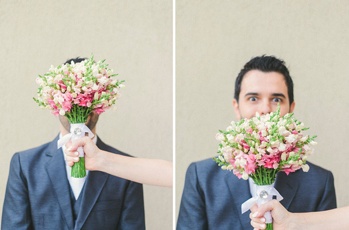 first look de casamento
