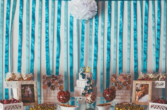 decoração de casamento azul Tiffany