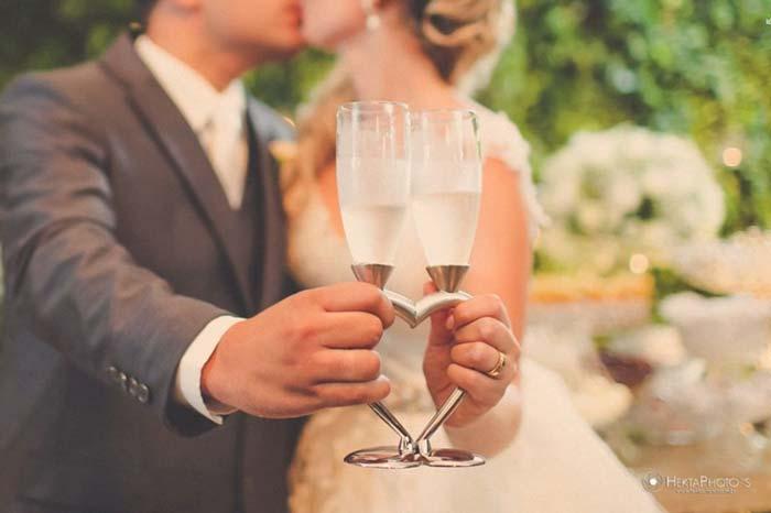 brinde de casamento