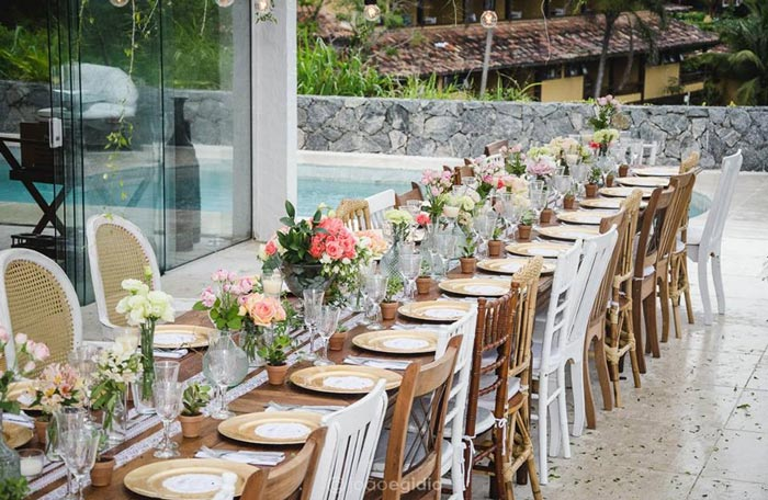 Casamento para 50 convidados