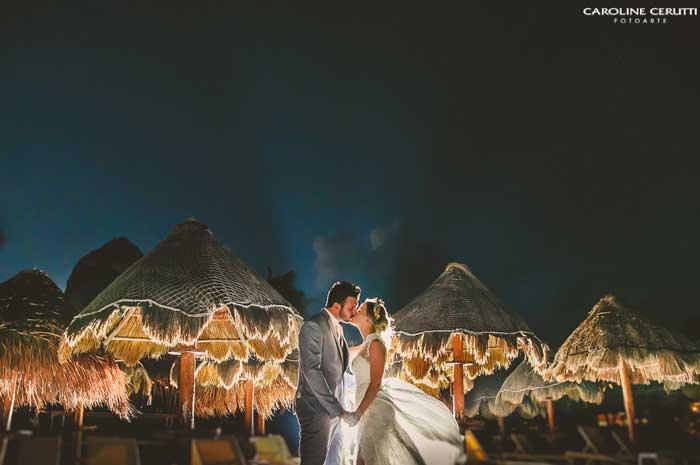 Casamento em Cancún: Thaeme e Fábio