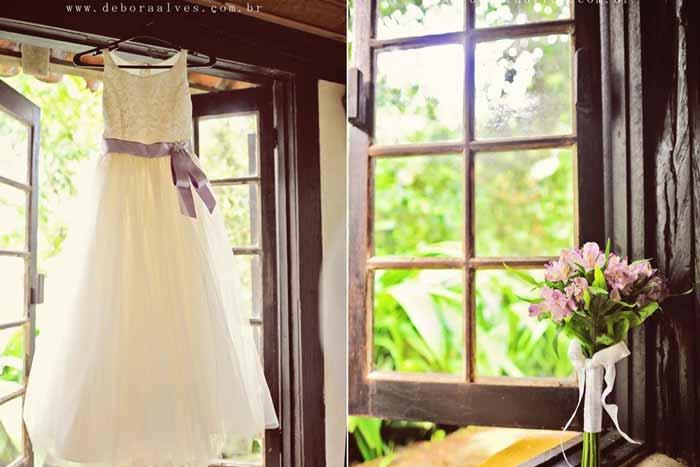 Decoração de casamento rústica com um toque vintage
