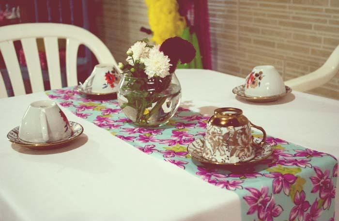 O chá de panela retrô