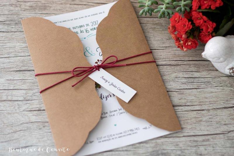 convite de casamento tendências 2018 - boutique do convite 4