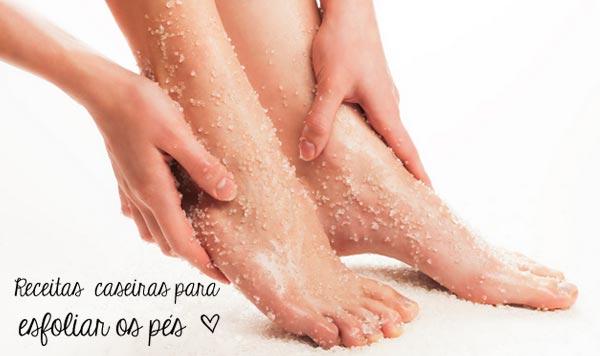 Dicas caseiras para esfoliar os pés