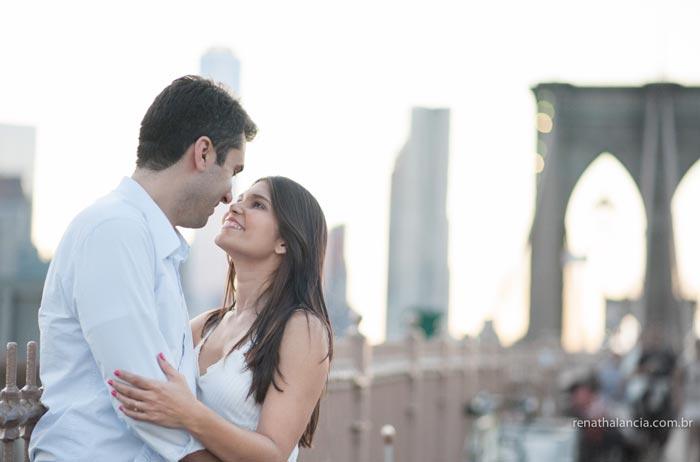 Ensaio em Nova York: Martha e Edson