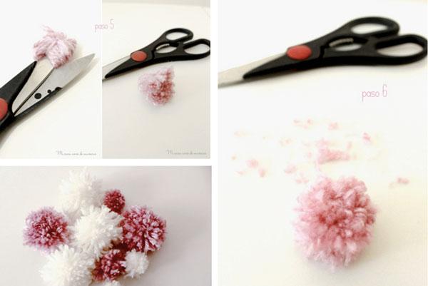 flores de lã