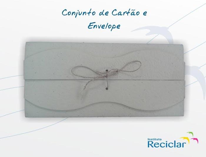 convite de casamento sustentável - Instituto Reciclar
