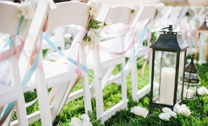 velas e luminárias para decoraçao de casamento