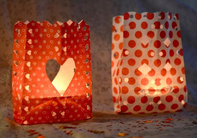 Faça você mesmo: luminárias em saquinhos de papel