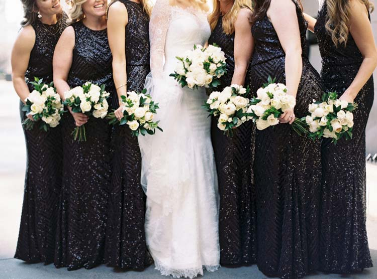 Madrinhas de preto: a nova tendência dos casamentos