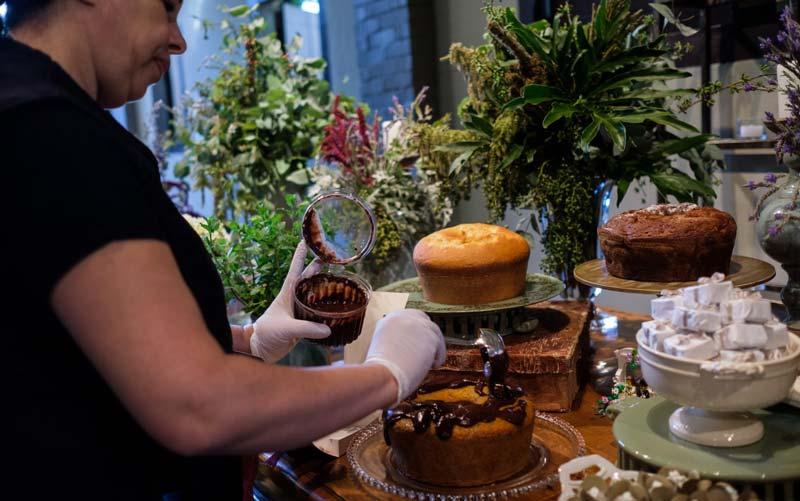 mesa de bolos caseiros foto 2