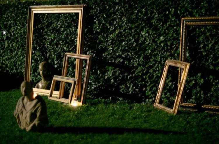 Decoração com molduras - As molduras vazias, com espelho, como chalk board são o destaque do post de hoje! Detalhes simples, que causam um efeito lindo!
