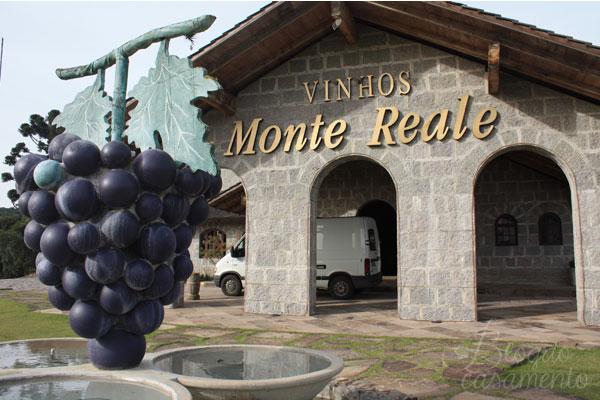 vinícolas na Serra Gaúcha  - Vinhos Monte Reale