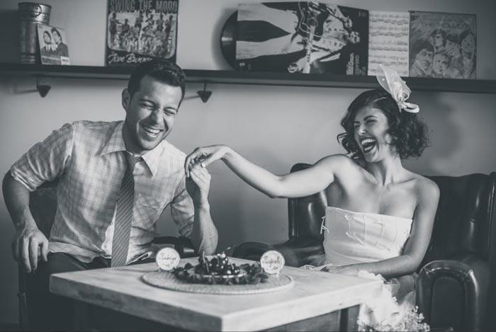 Ensaio Pin-up : Rafaella e Rodrigo